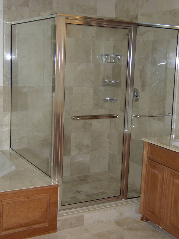 Atlanta framed shower doors superior shower doors georgia - Alumax shower door and buying considerations ...