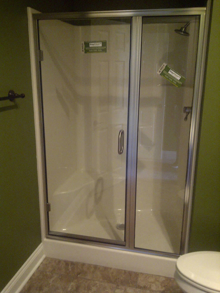 Semi Frameless Shower Enclosures atlanta framed shower doors - superior shower doors georgia