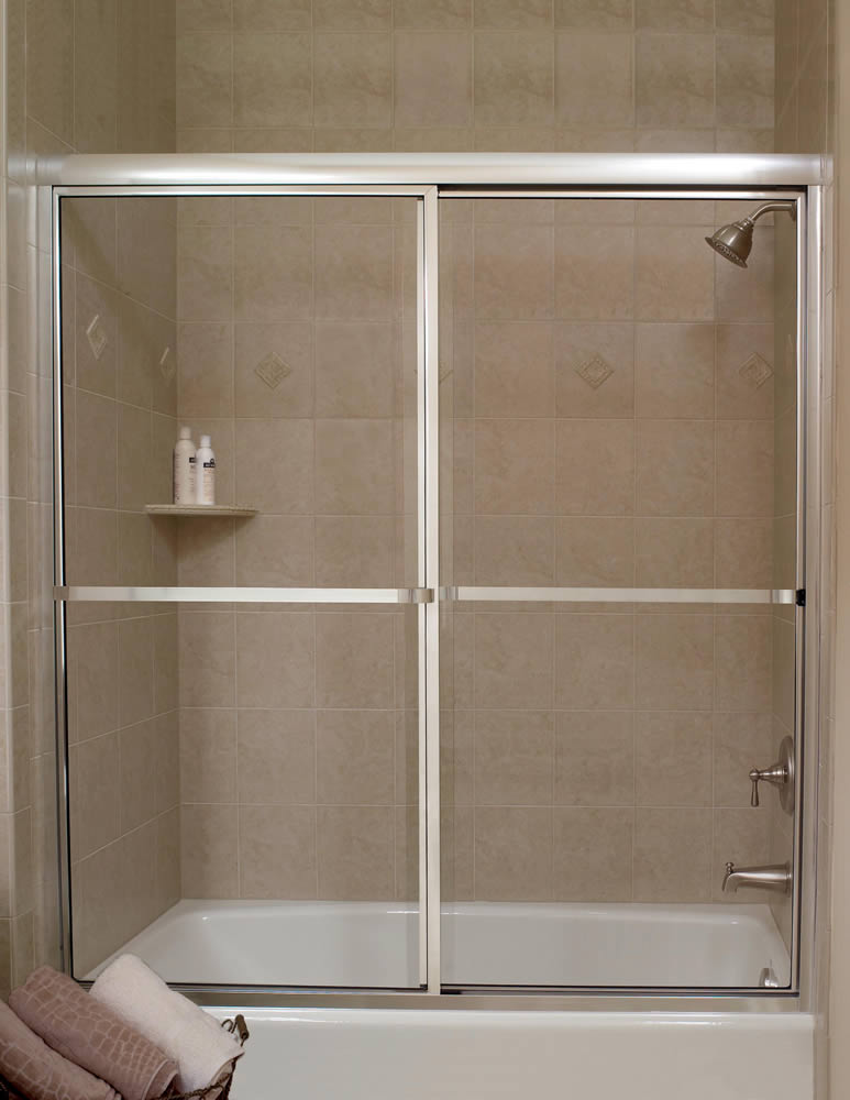 Framed Sliding Shower Doors atlanta framed shower doors - superior shower doors georgia