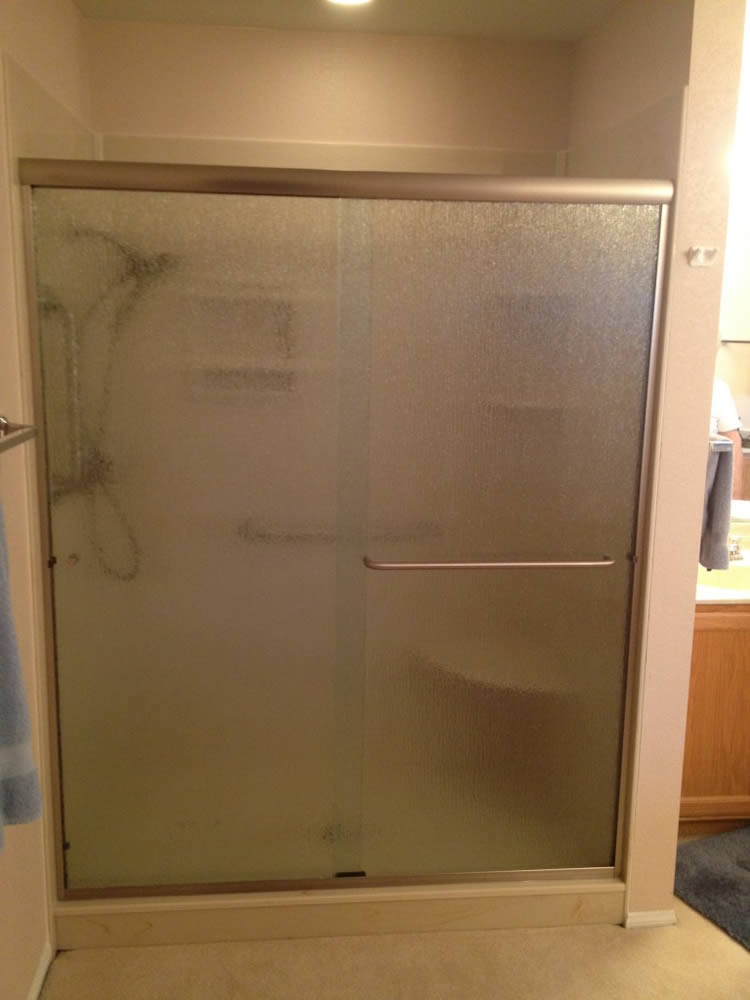 048 Semi Framed Shower Door   Sandy Springs, GA
