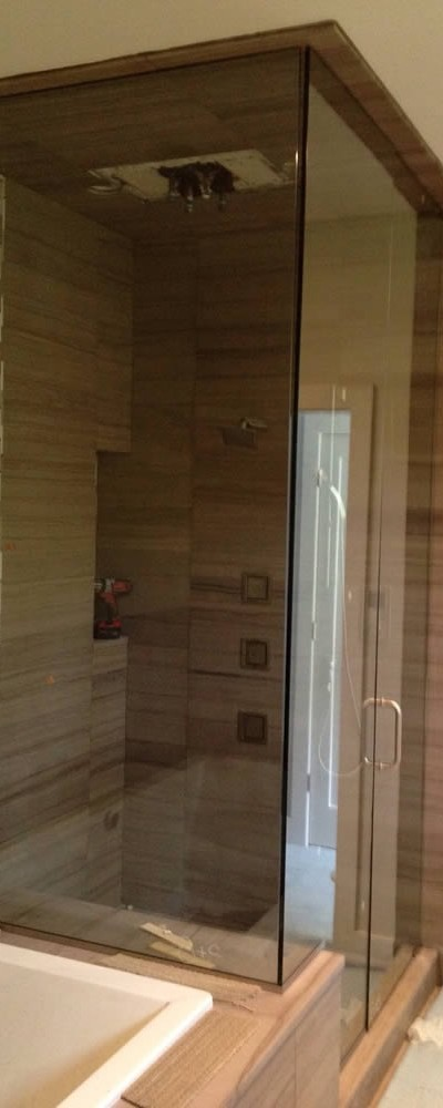 001 - Frameless Shower Door - Atlanta, GA