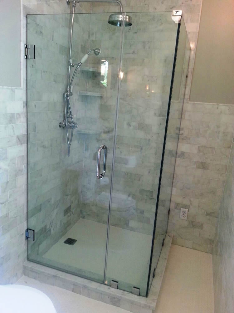 Lovely 006   Frameless Shower Door   Atlanta, GA