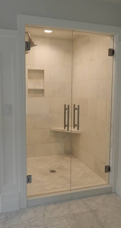 007 - Frameless Shower Door - Roswell, GA