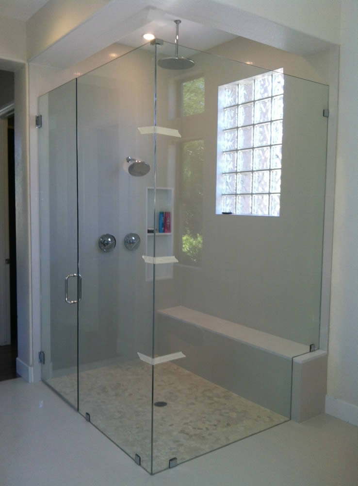 012 - Frameless Shower Door - Alpharetta, GA