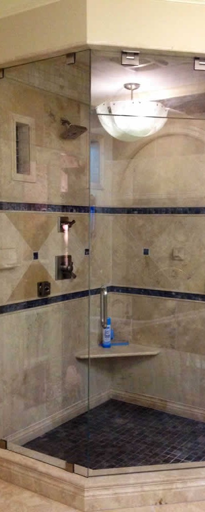015 - Frameless Shower Door - Woodstock, GA
