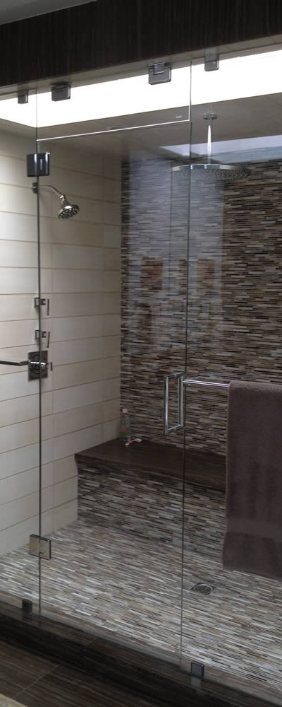 026 - Frameless Shower Door - Buckhead, GA