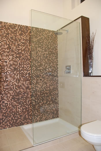 Frameless glass shower doors, Dunwoody, GA