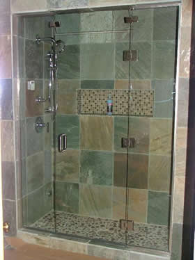 Atlanta Frameless Steam Shower Door