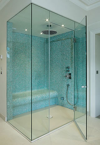 frameless glass shower doors roswell - Frameless Glass Shower Door