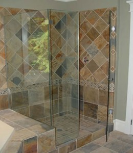 Frameless Shower Enclosure Roswell Georgia