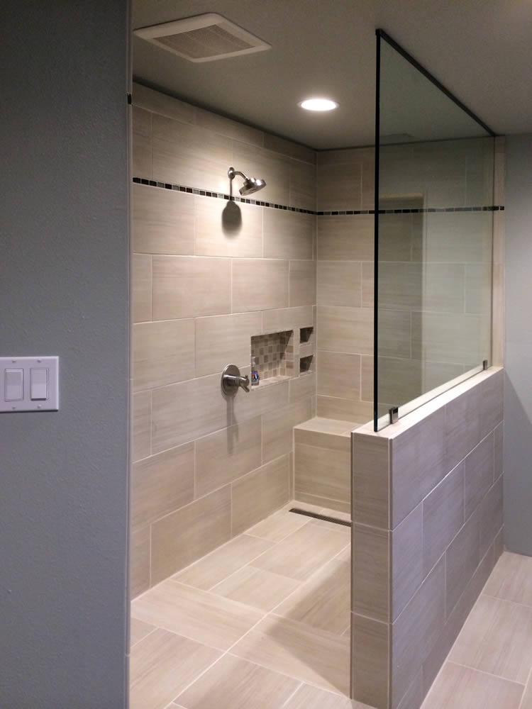 070 Shower Glass Splash Panel - Woodstock, GA