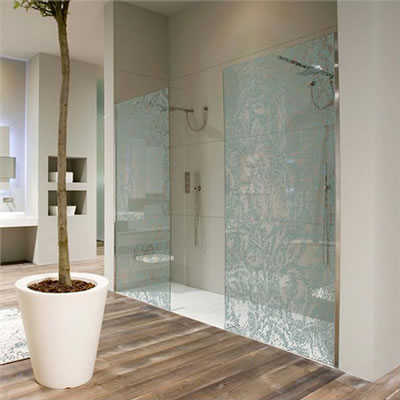 071 Shower Glass Splash Panel - Buckhead, GA