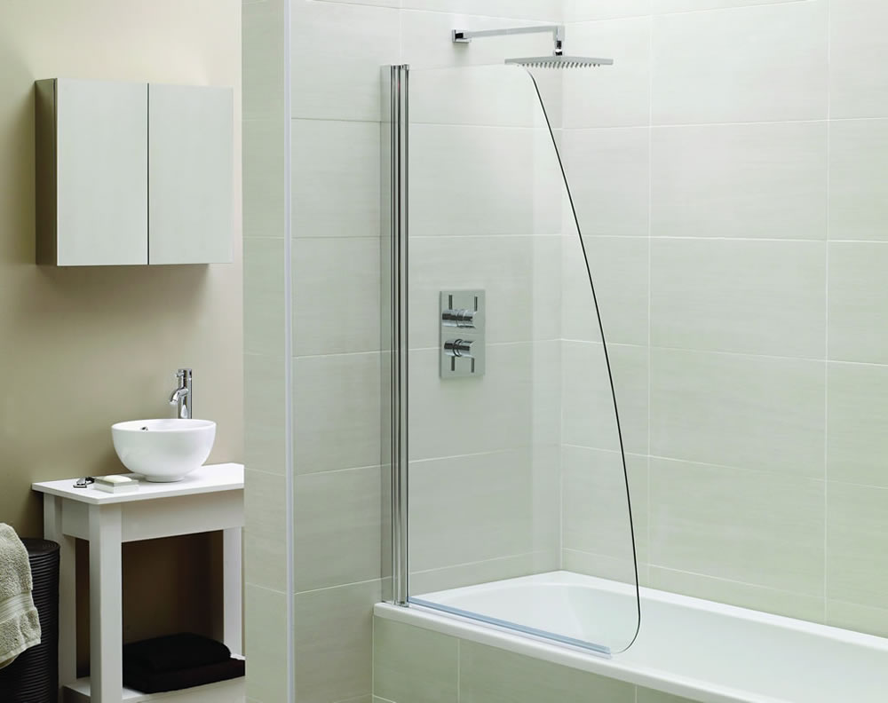 072 Shower Glass Splash Panel - Roswell, GA