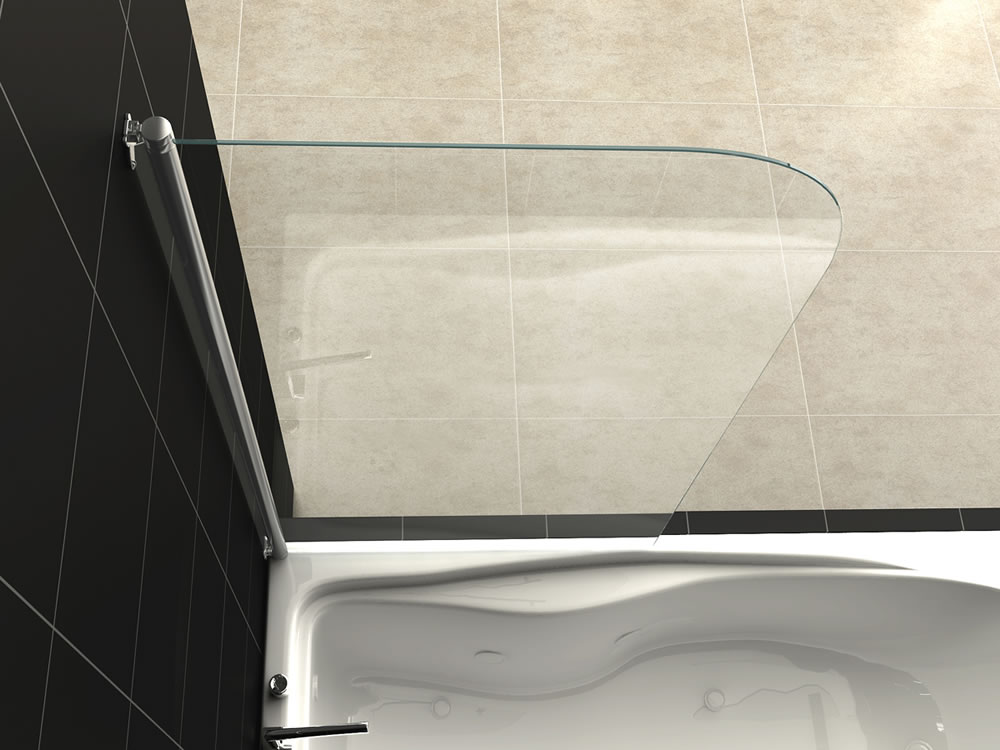 075 Shower Glass Splash Panel - Buckhead, GA