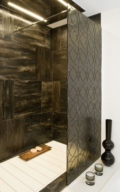078 Shower Glass Splash Panel - Buckhead, GA