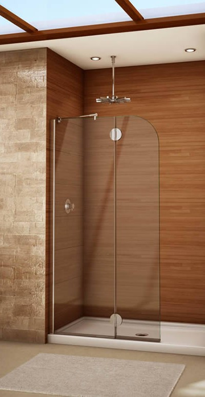 077 Shower Glass Splash Panel - Dunwoody, GA