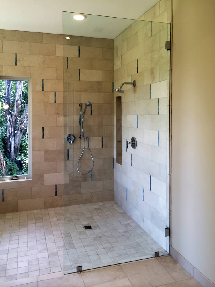 076 Shower Glass Splash Panel - Woodstock, GA