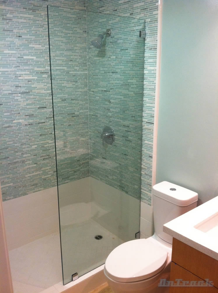 081 Shower Glass Splash Panel - Buckhead, GA