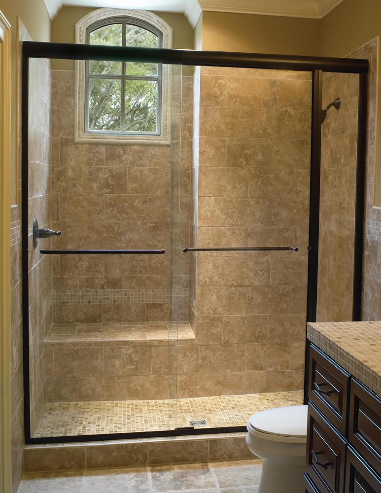 051 Semi-Framed Shower Door - Buckhead, GA