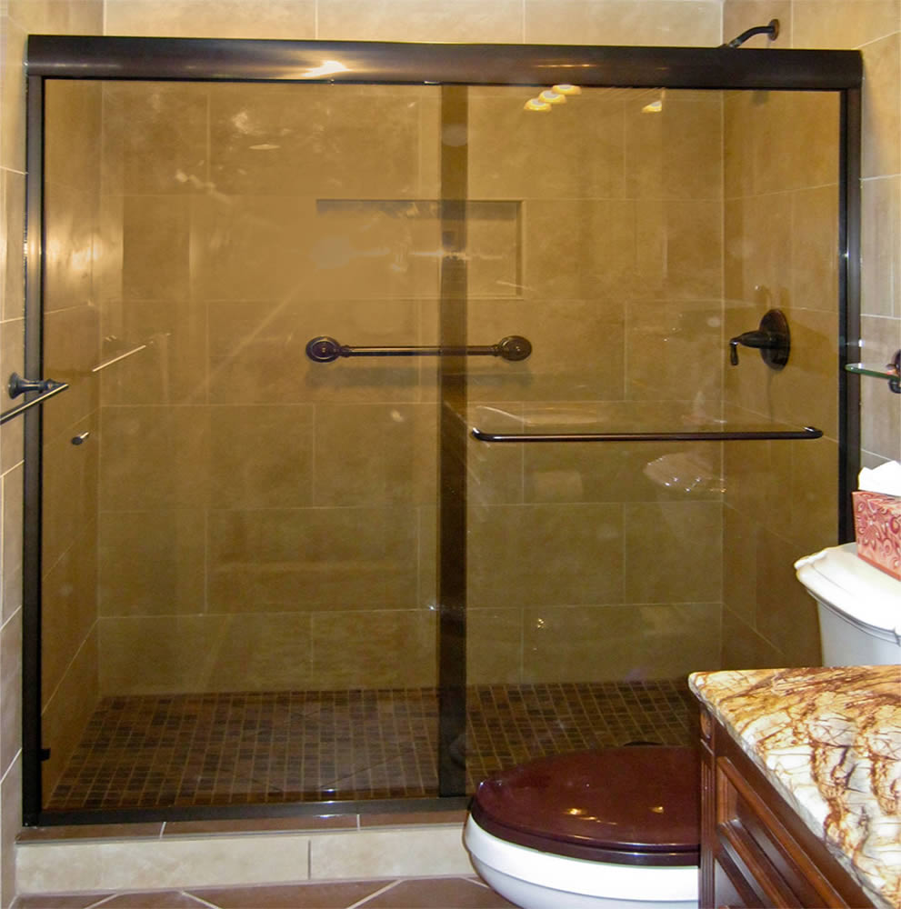 056 Semi-Framed Shower Door - Atlanta, GA