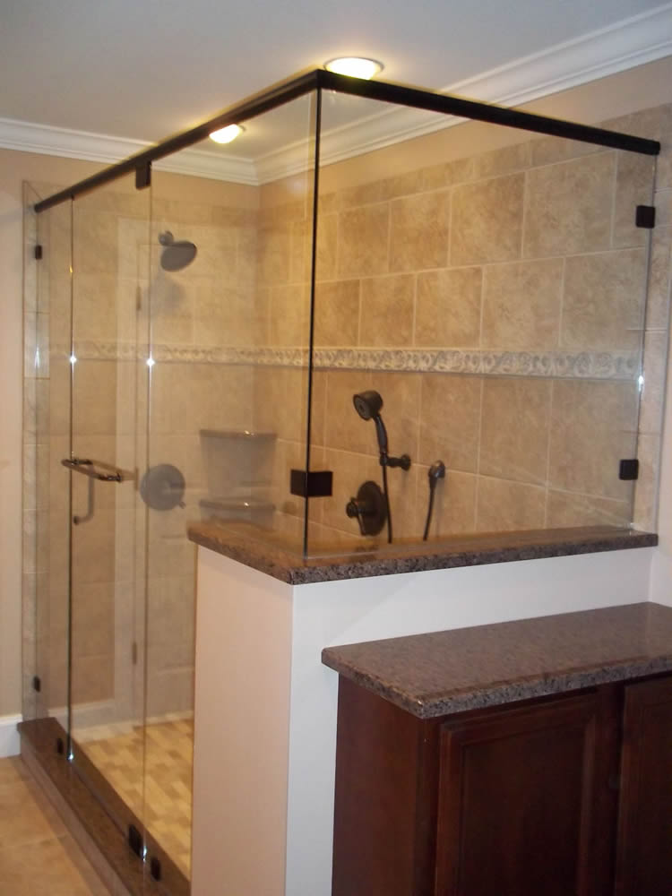 069 Semi-Framed Shower Door - Marietta, GA