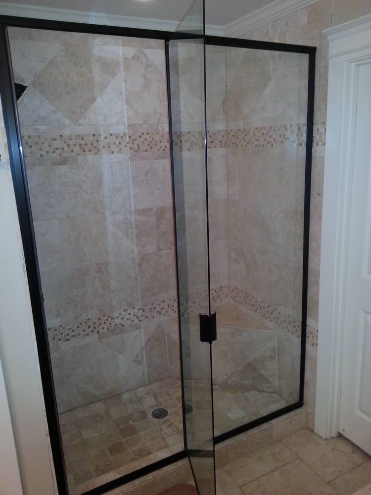 067 Semi-Framed Shower Door - Atlanta, GA
