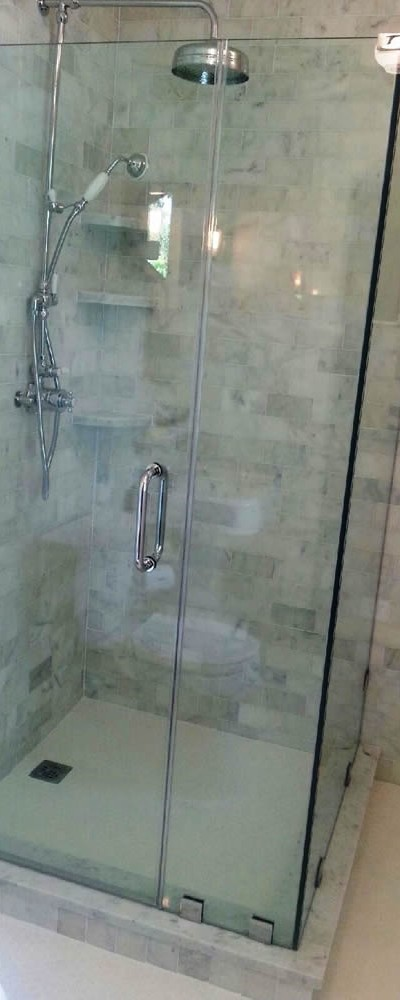 006 - Frameless Shower Door - Atlanta, GA