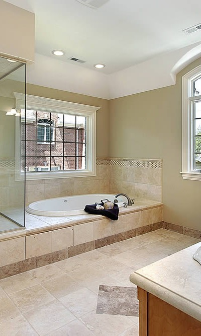 003 - Frameless Shower Door - Atlanta, GA