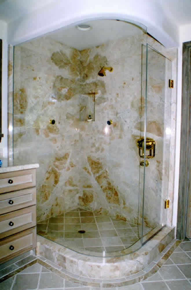 010 - Frameless Shower Door - Alpharetta, GA