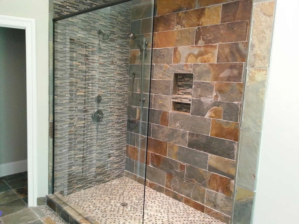 009 Frameless Shower Door Alpharetta Ga