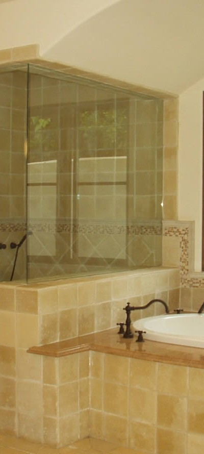 011 - Frameless Shower Door - Roswell, GA