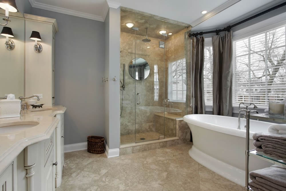 017 - Frameless Shower Door - Buckhead, GA