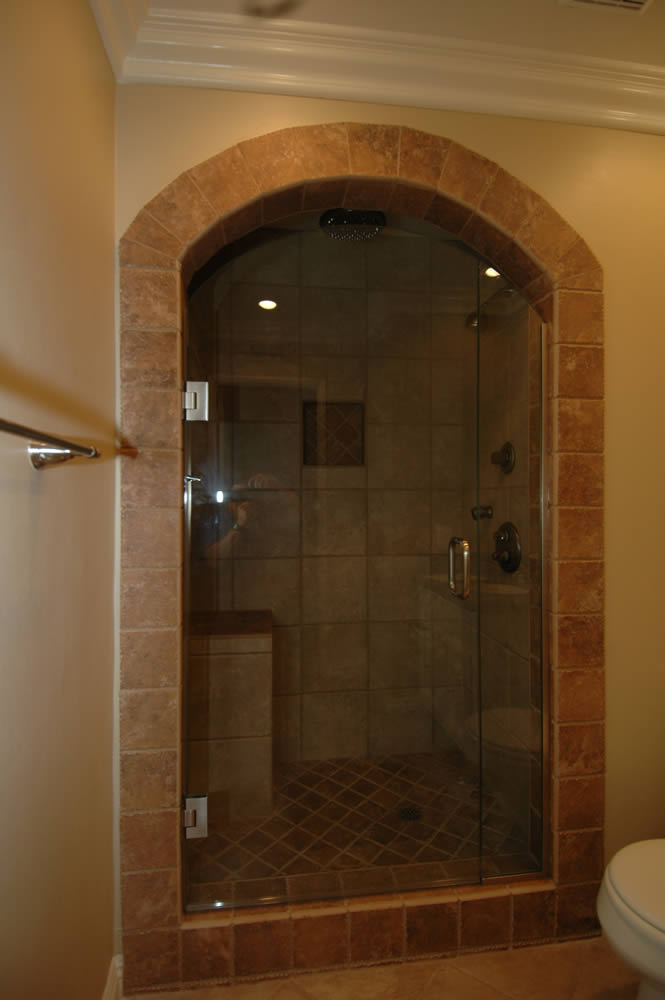 014 - Frameless Shower Door - Roswell, GA