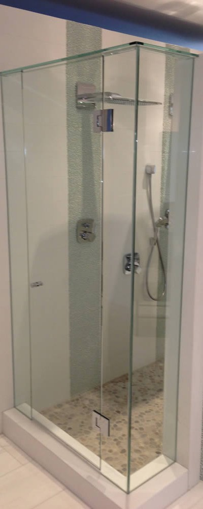 023 - Frameless Shower Door - Roswell, GA