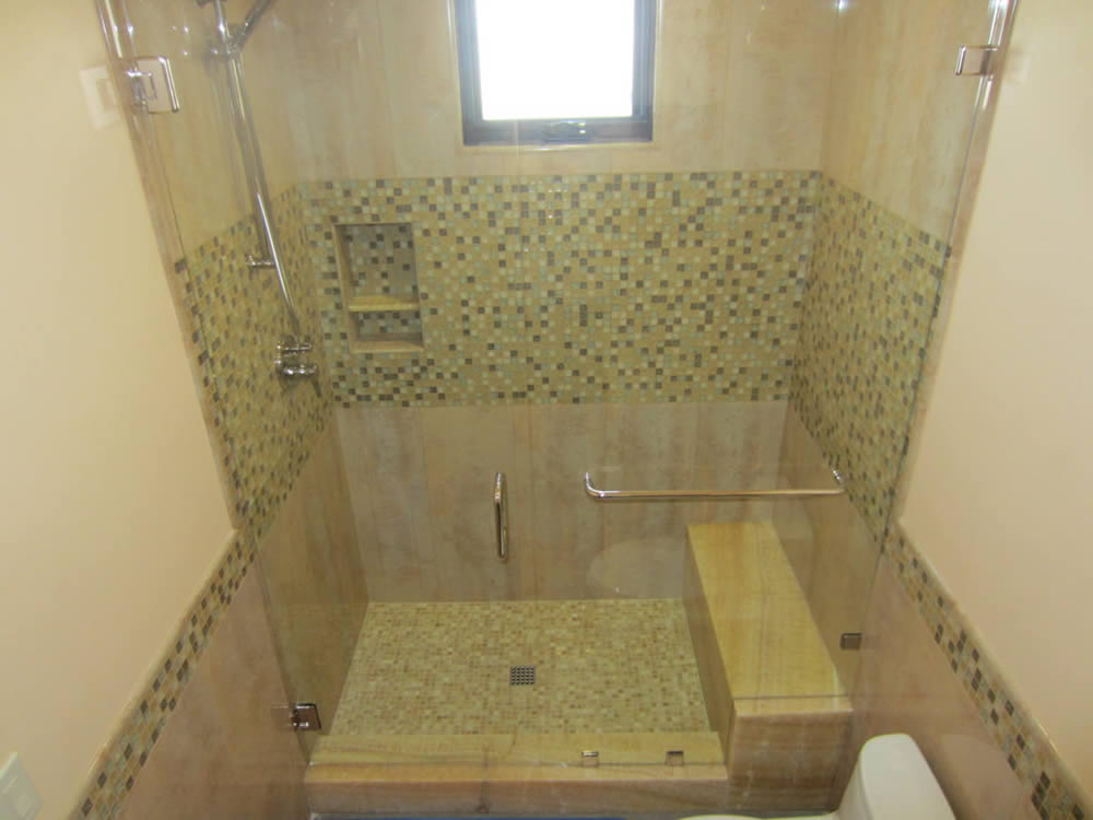 025 - Frameless Shower Door - Roswell, GA