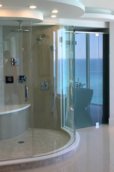 027 - Frameless Shower Door - Buckhead, GA