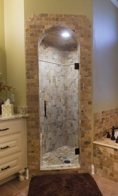 028 - Frameless Shower Door - Woodstock, GA