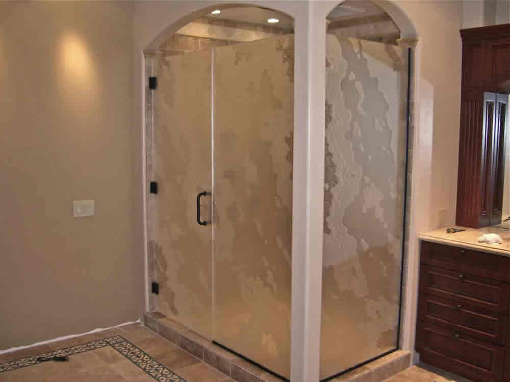 029 - Frameless Shower Door - Alpharetta, GA