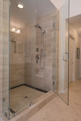 Marietta Frameless Glass Shower Doors