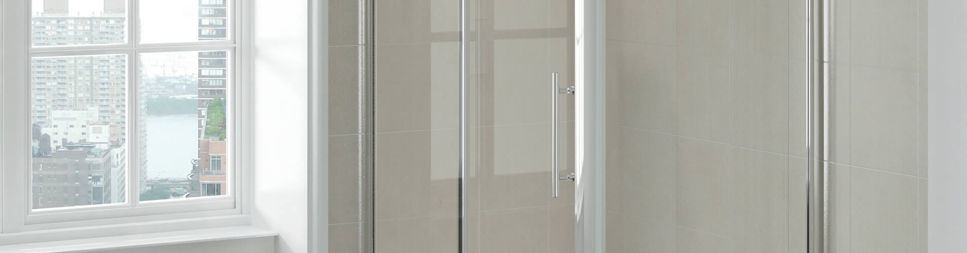Framed Glass Shower Doors - Atlanta, Georgia
