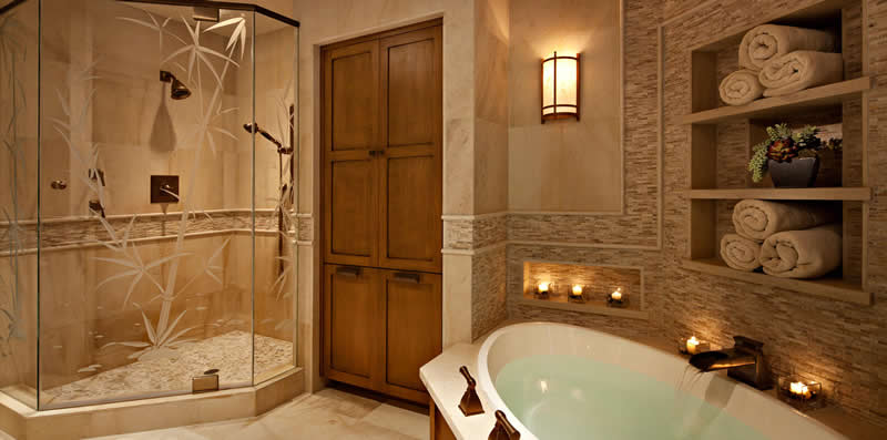 Beautiful Spa Like Bathroom Design - Atlanta area