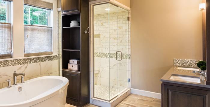 Chattanooga custom shower enclosure