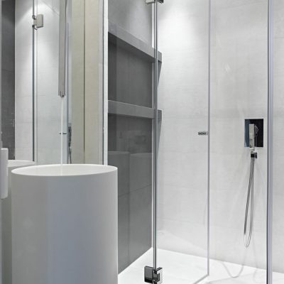 006 Frameless Glass Shower Door Chattanooga TN