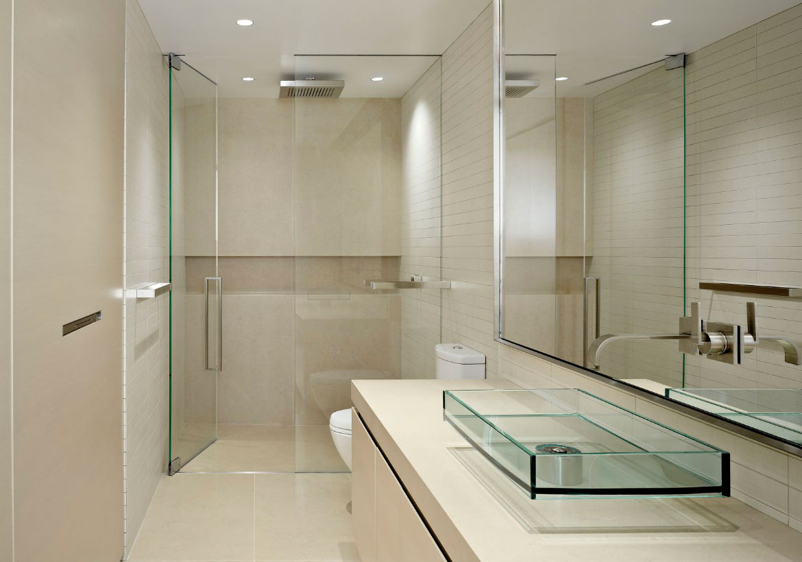 001 - Roswell Frameless Shower Doors